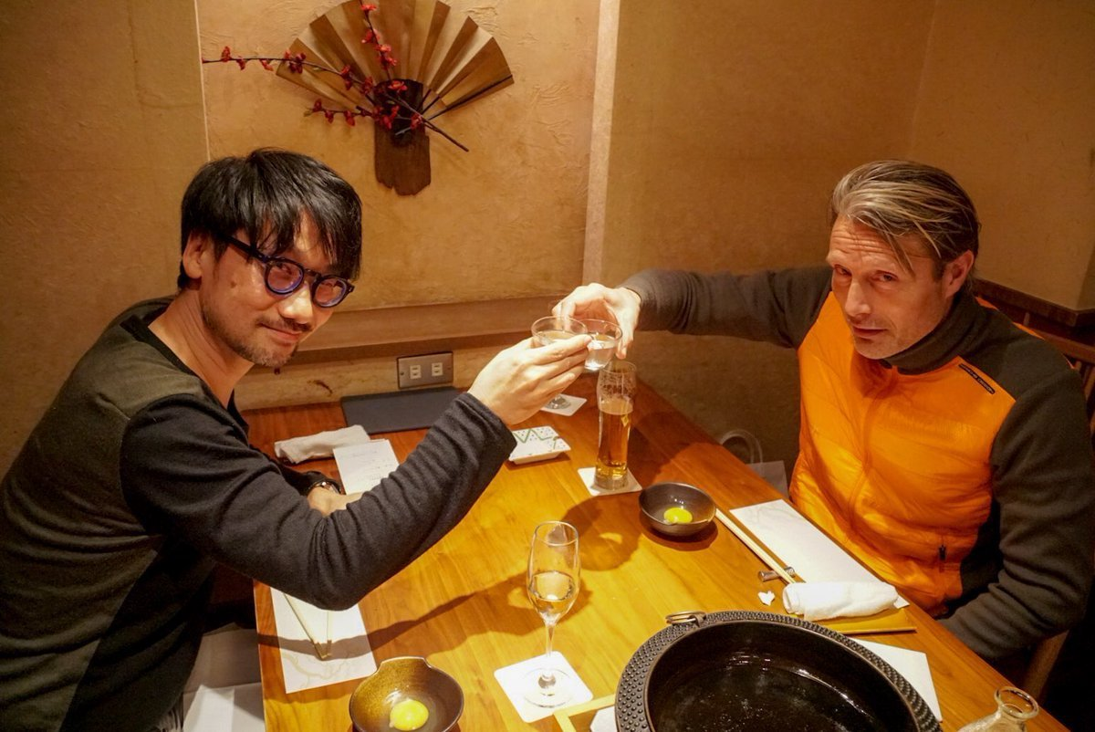 Important Death Stranding meeting.