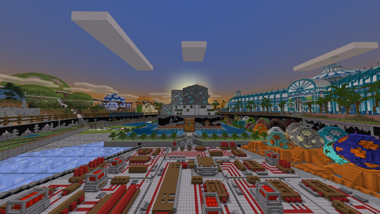 Minecraft celebrates 10 years with anniversary map