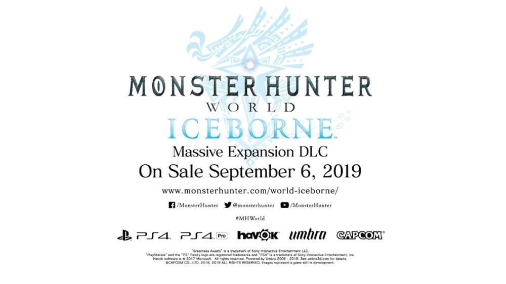 Monster Hunter World Iceborne DLC Velkhana