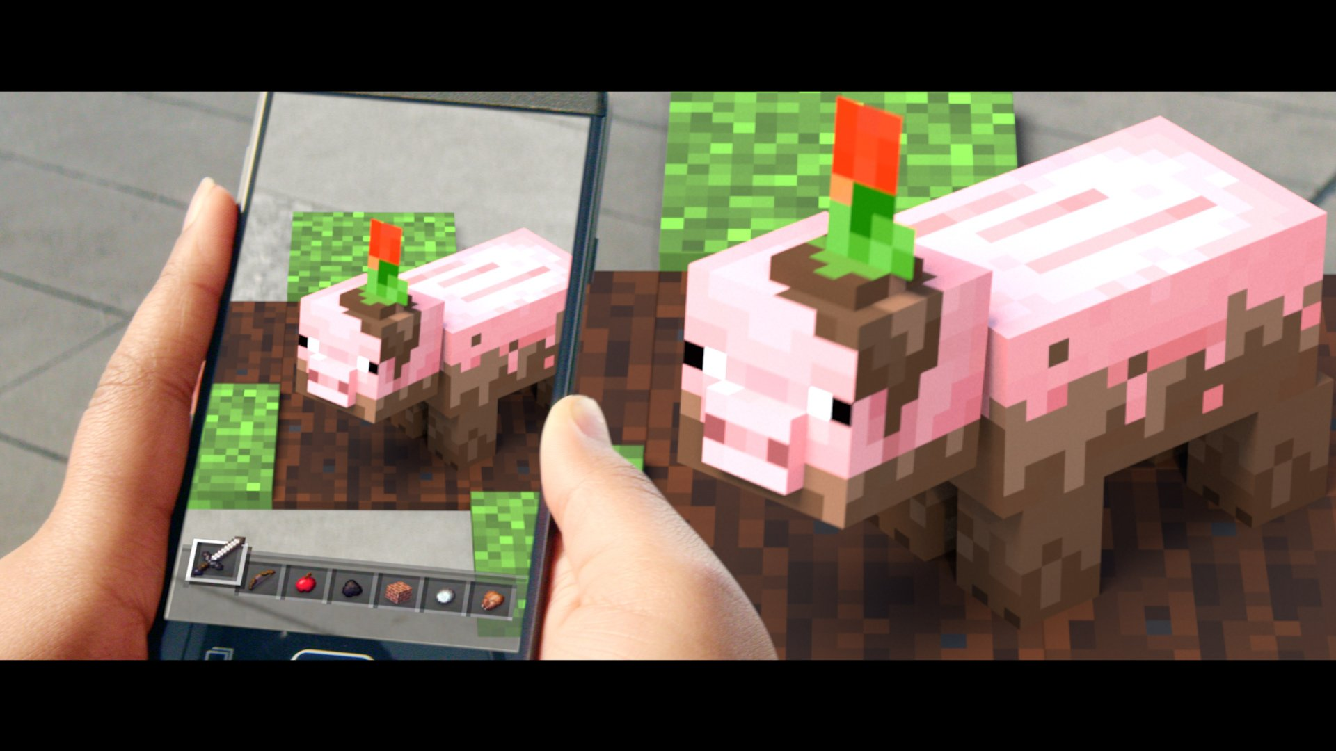 Minecraft Earth AR mobile app for iOS and Android announced