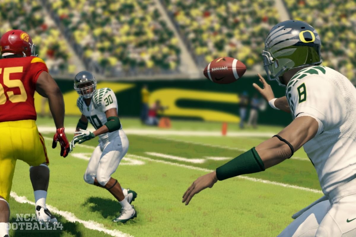 NCAA Football 14 was the last outing for the long-running collegiate sports franchise.