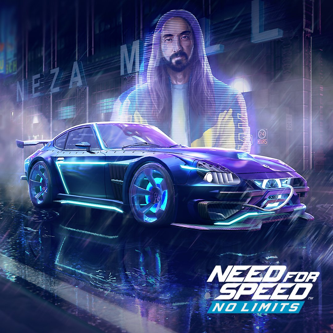 Steve Aoki makes special appearance in Need for Speed No Limits DLC