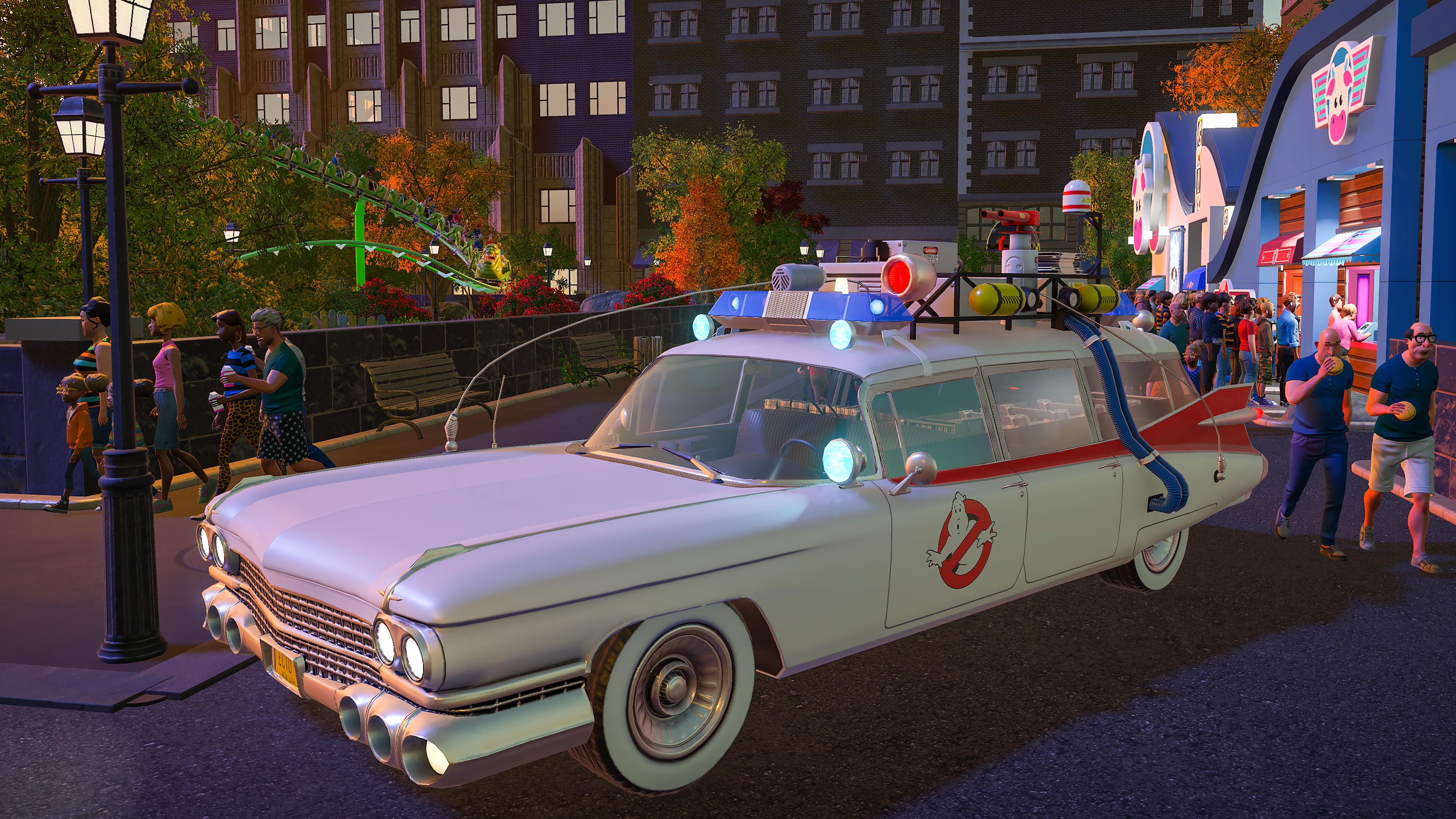 Planet Coaster - Ghostbusters DLC