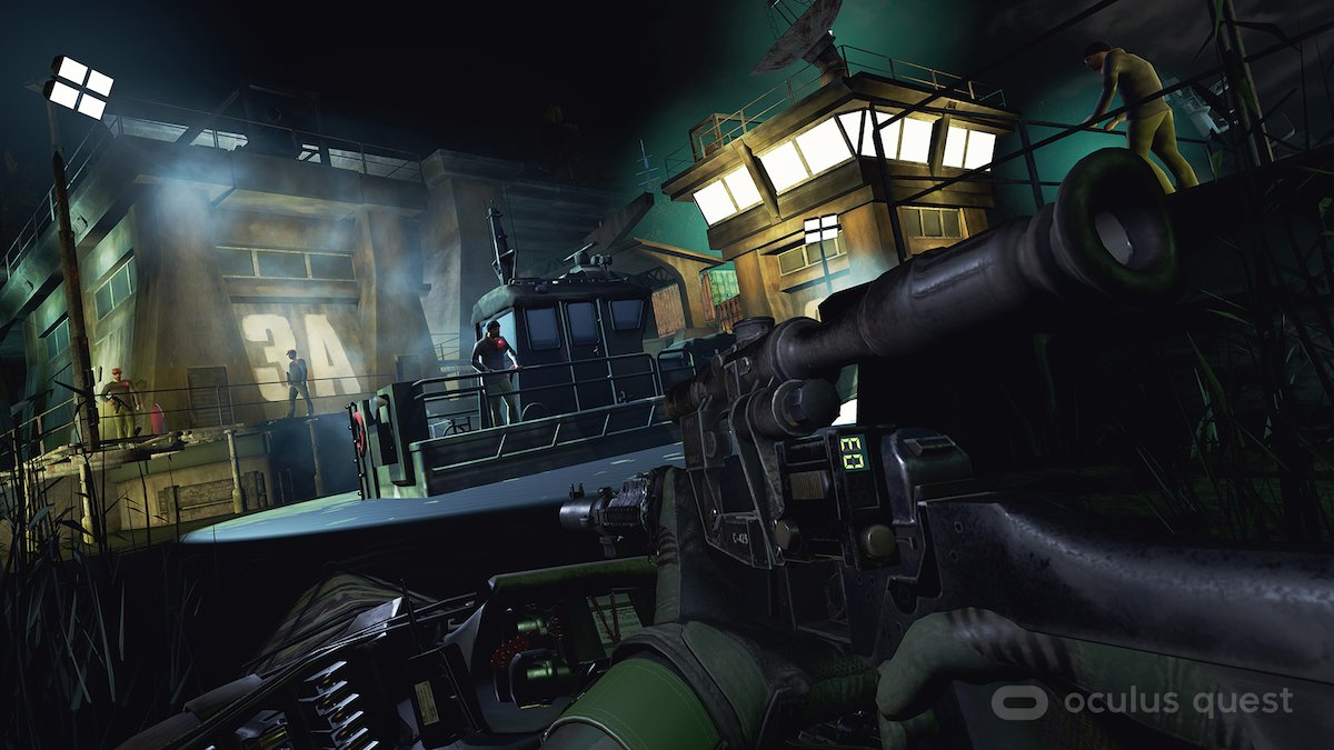 The sniper rifle was my weapon of choice in Phantom: Covert Ops.
