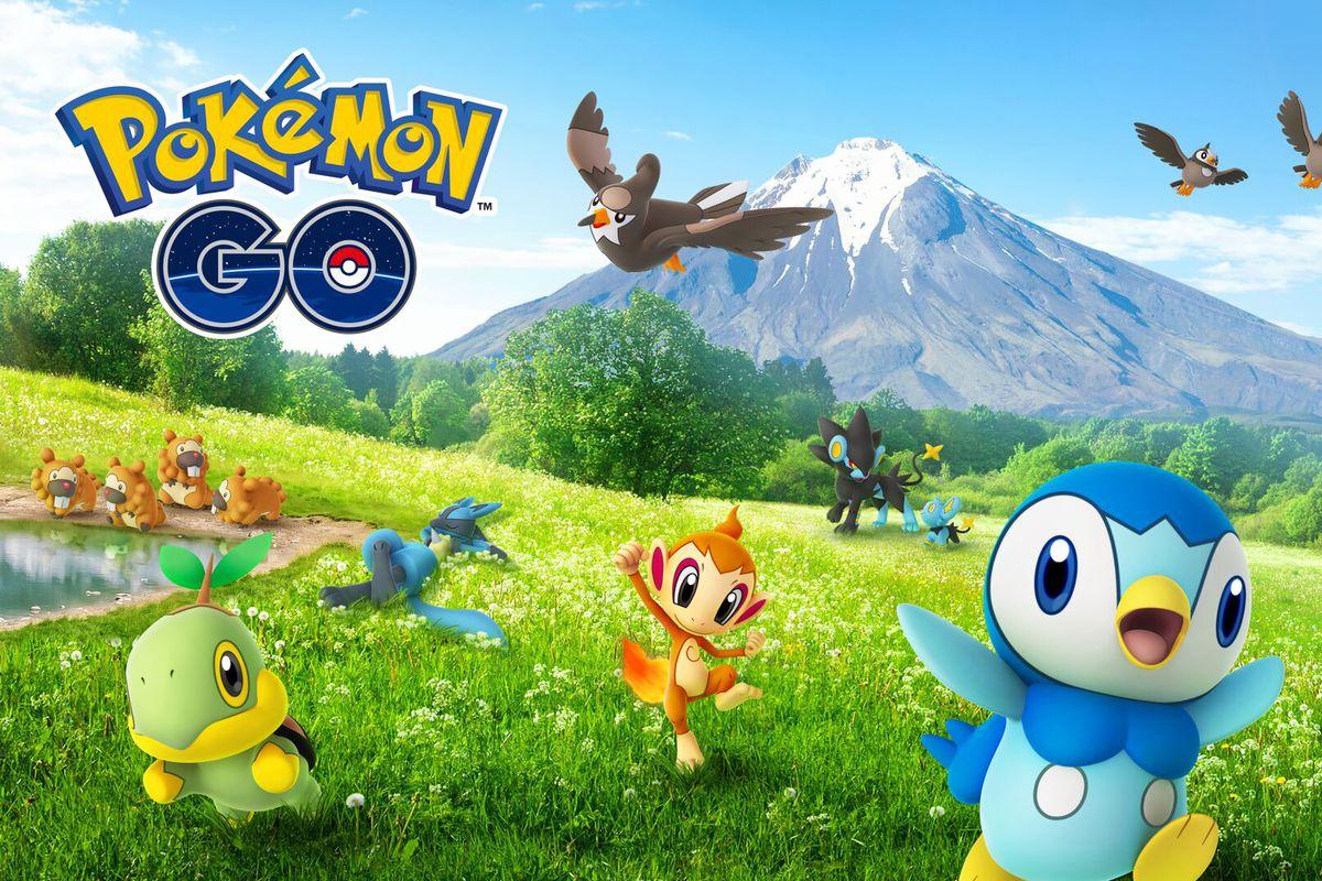pokemon go sinnoh creatures earth power lure modules