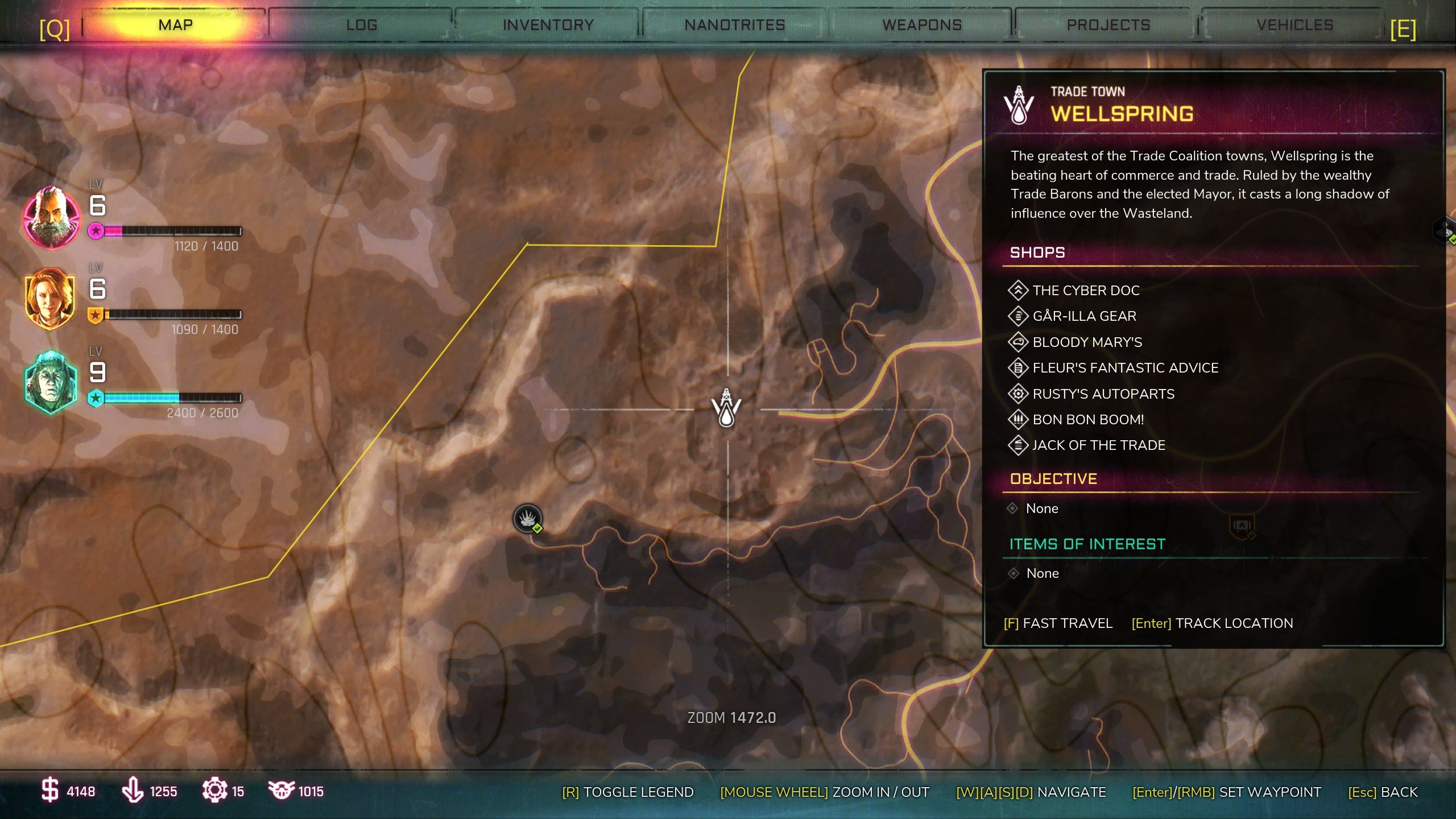 Rage 2 - how to fast travel