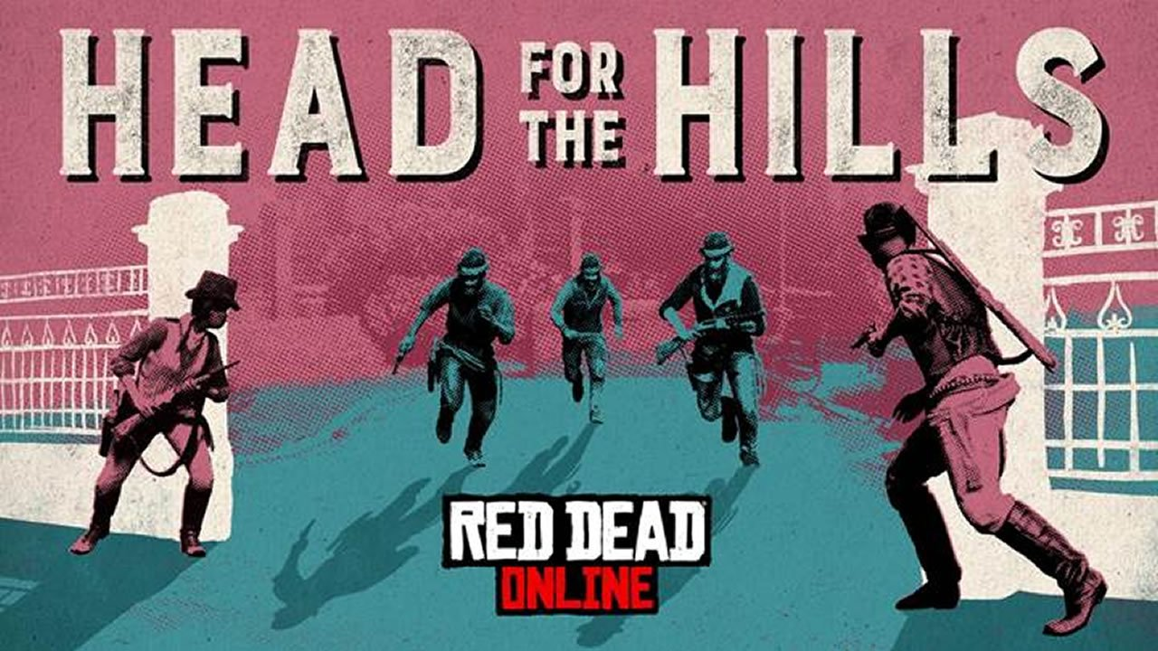 Red Dead Redemption 2 Online Head for the Hills