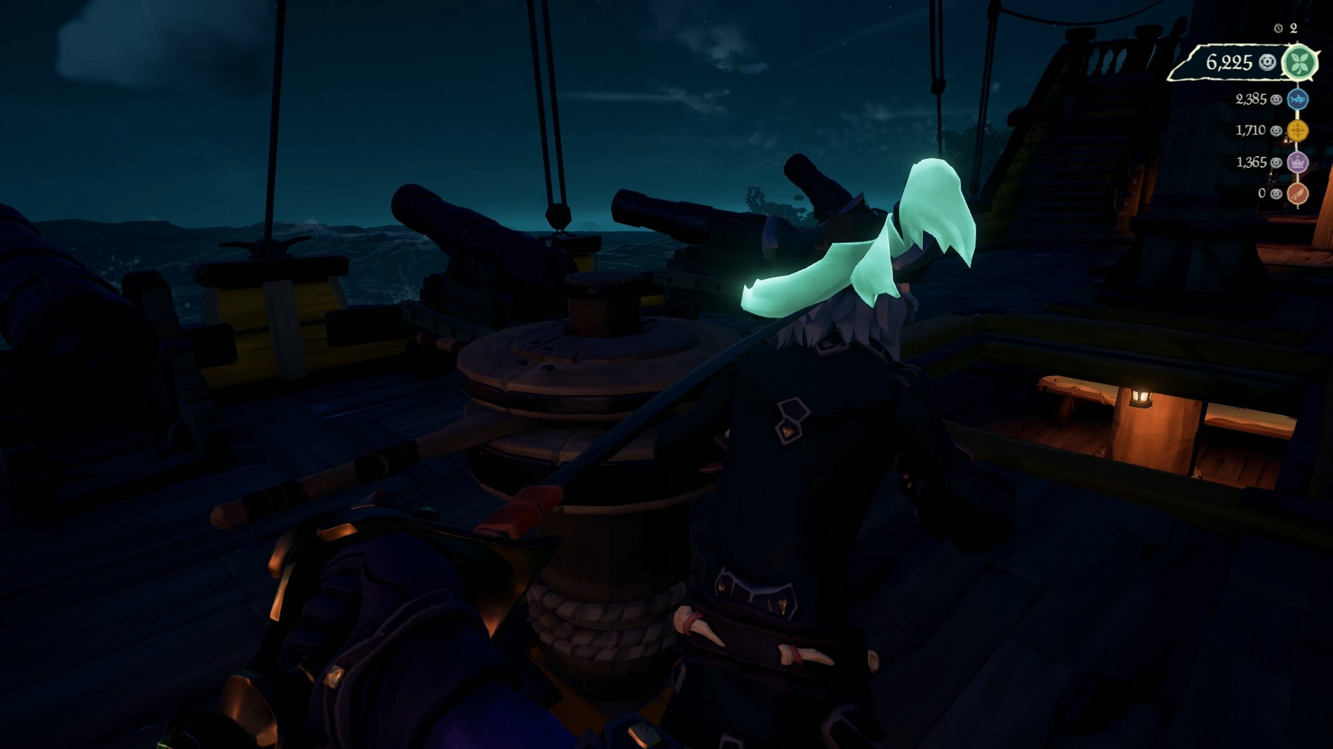 Sea of Thieves defend the anchor