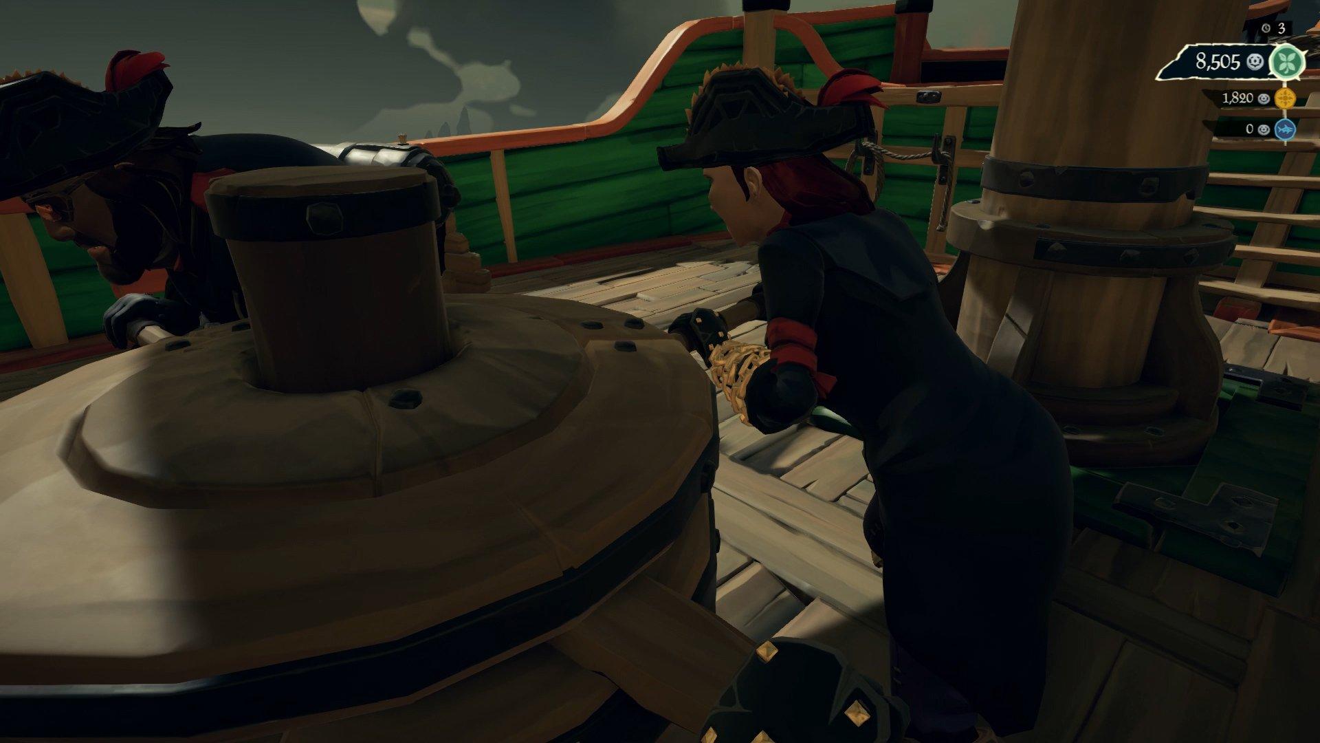 Sea of Thieves Arena tricks