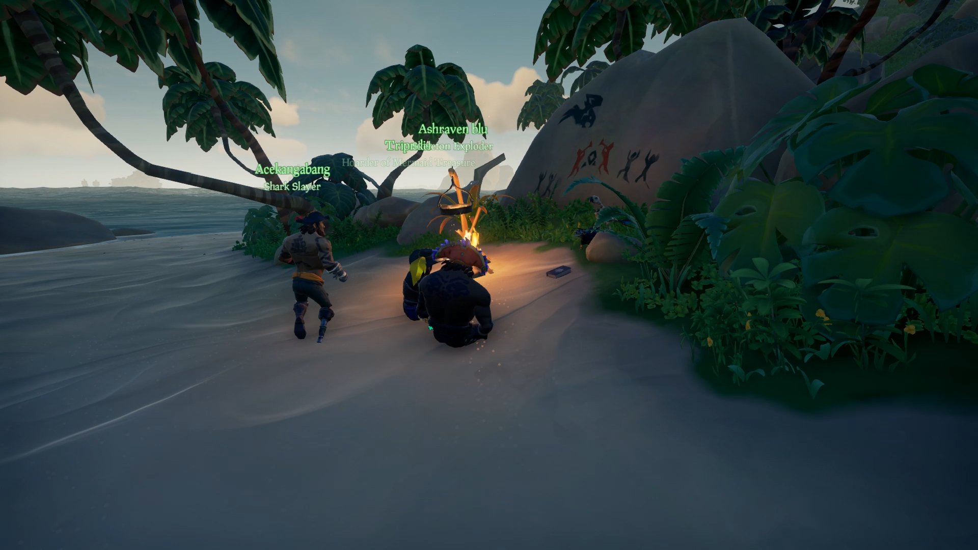 Sea of Thieves Salty location