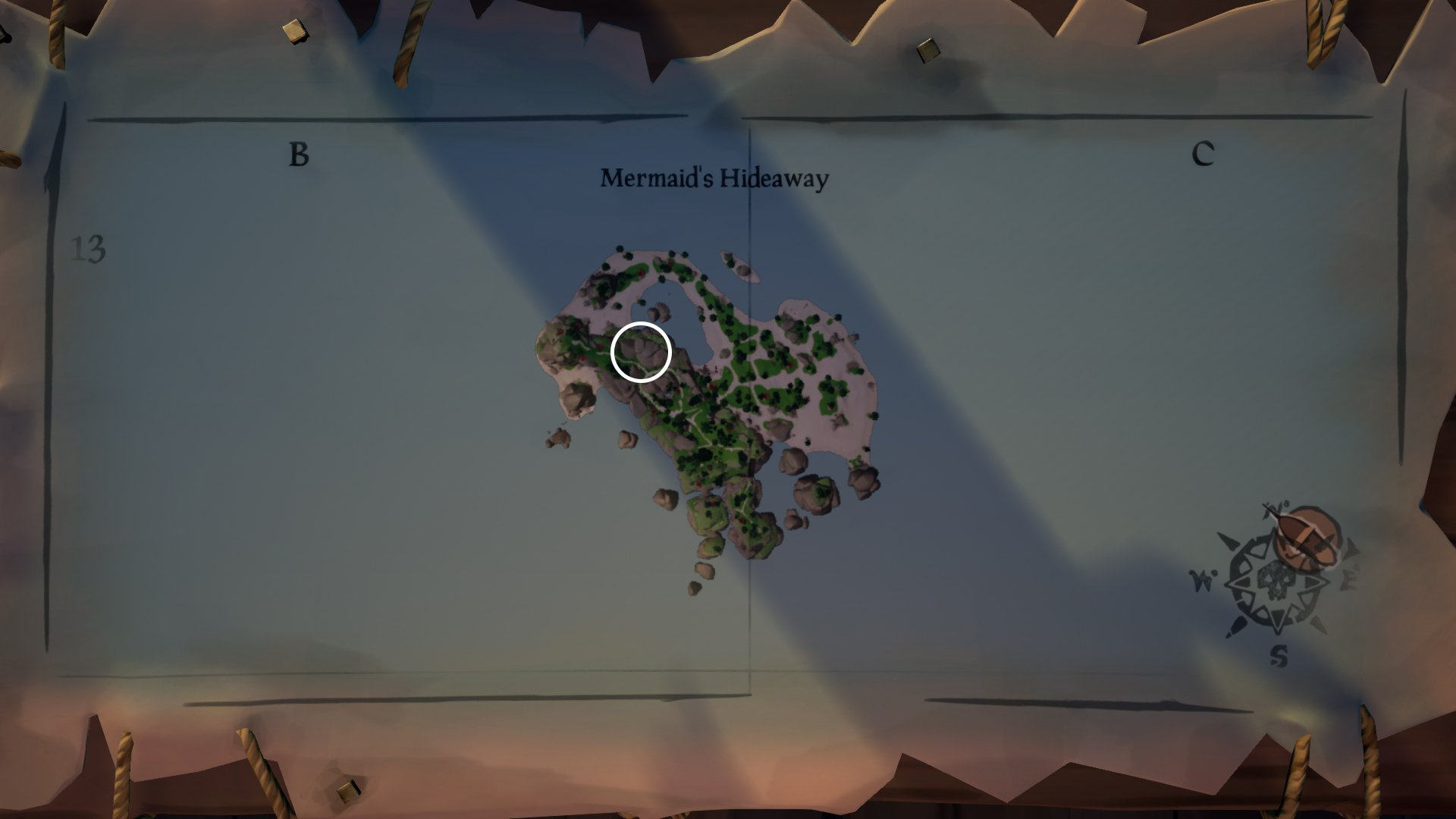 mermaids hideaway beacon sea of thieves