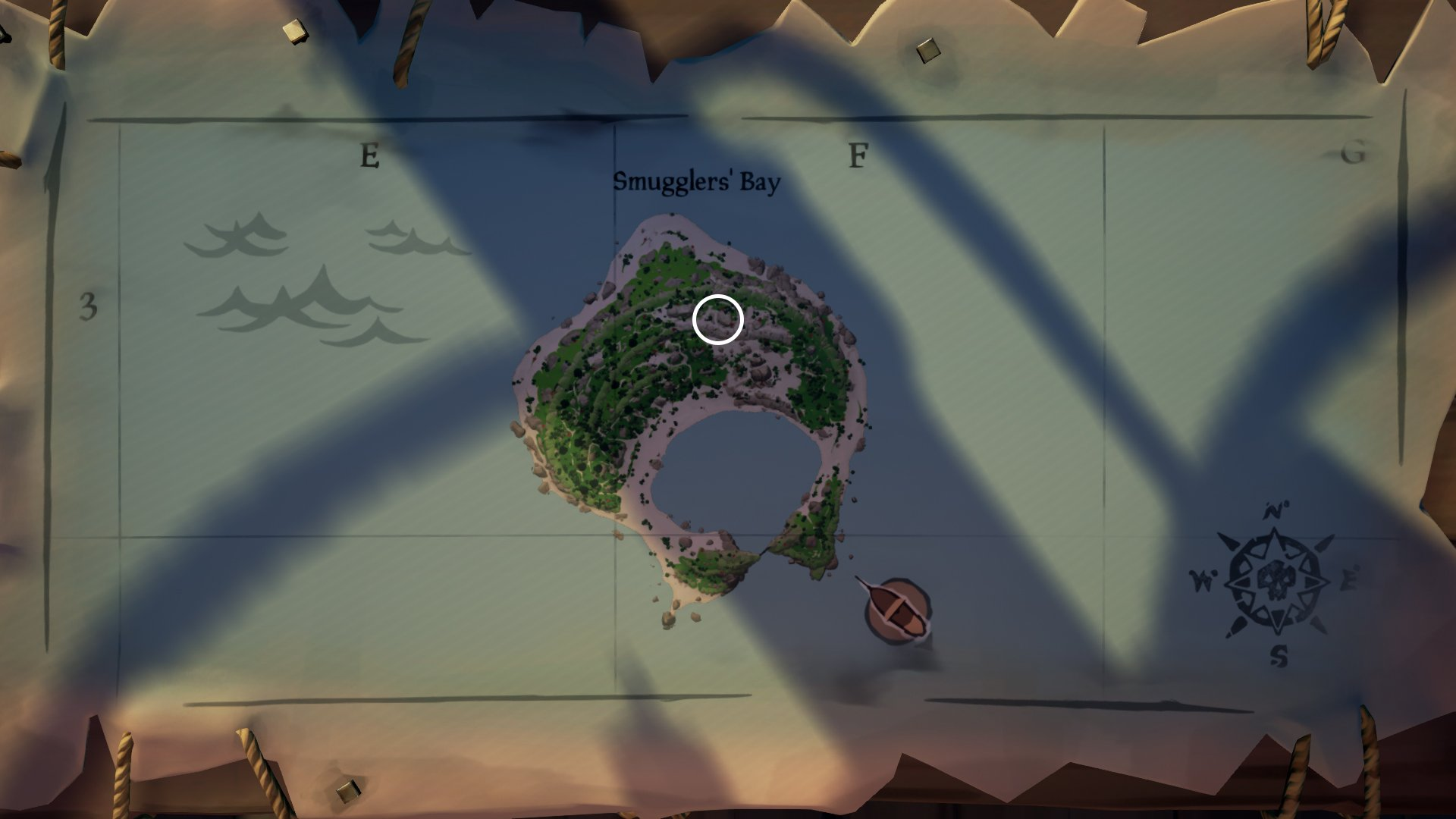 smugglers bay beacon sea of thieves