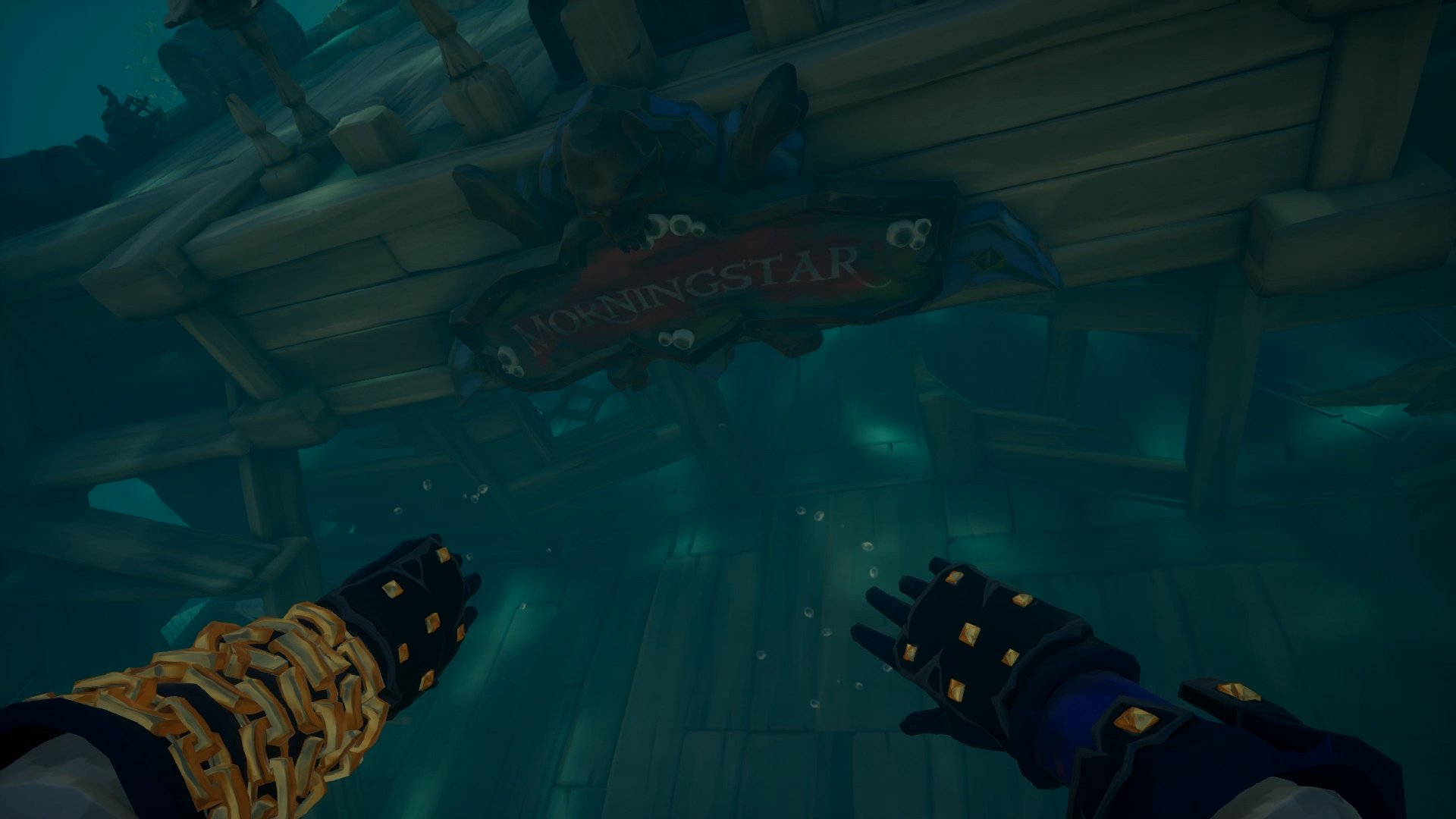 Sea of Thieves Morningstar shipwreck