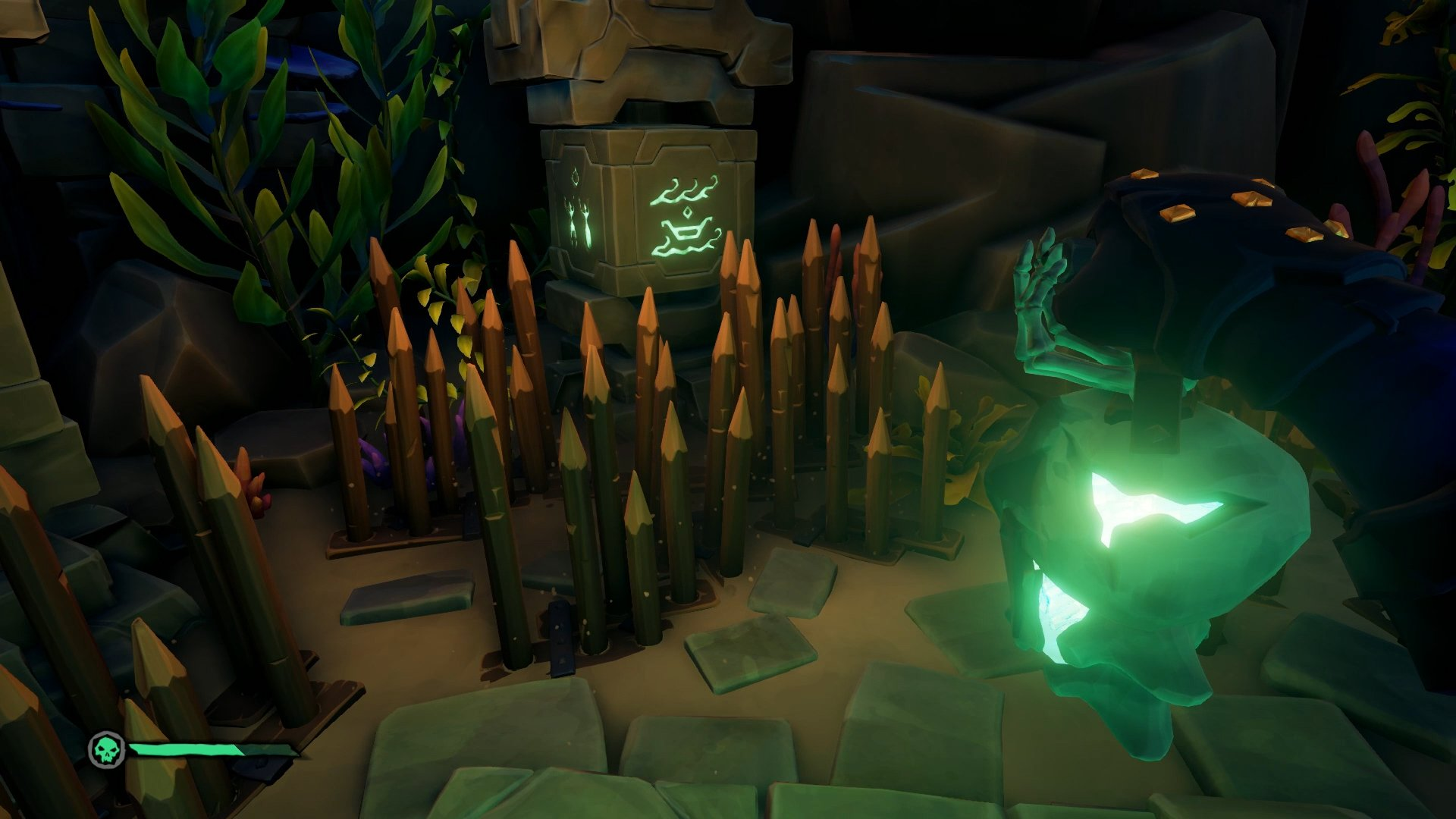 Sea of Thieves north kraken vault