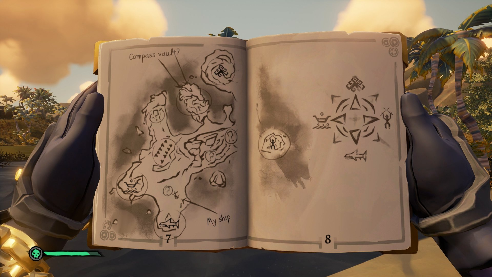 Sea of Thieves Tribute Peak Map