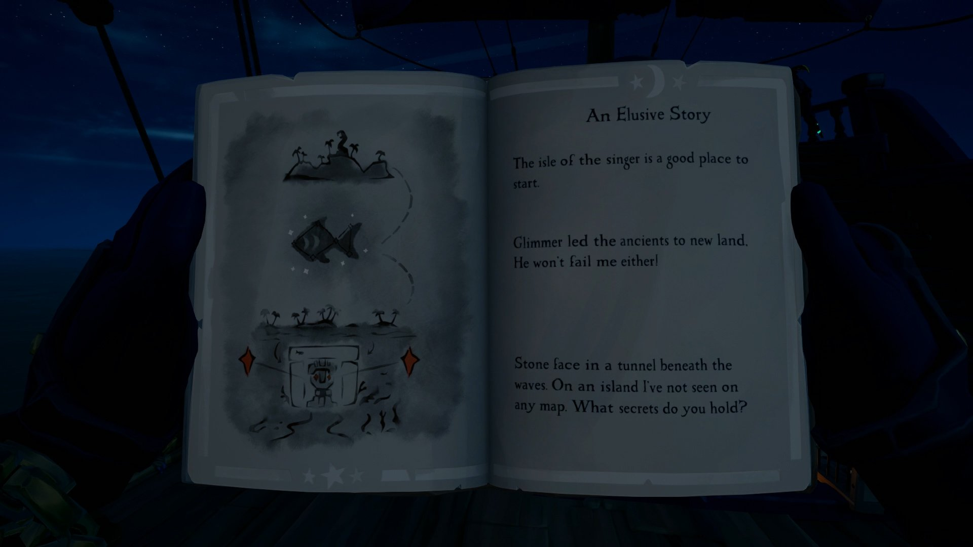 Sea of Thieves An Elusive Story