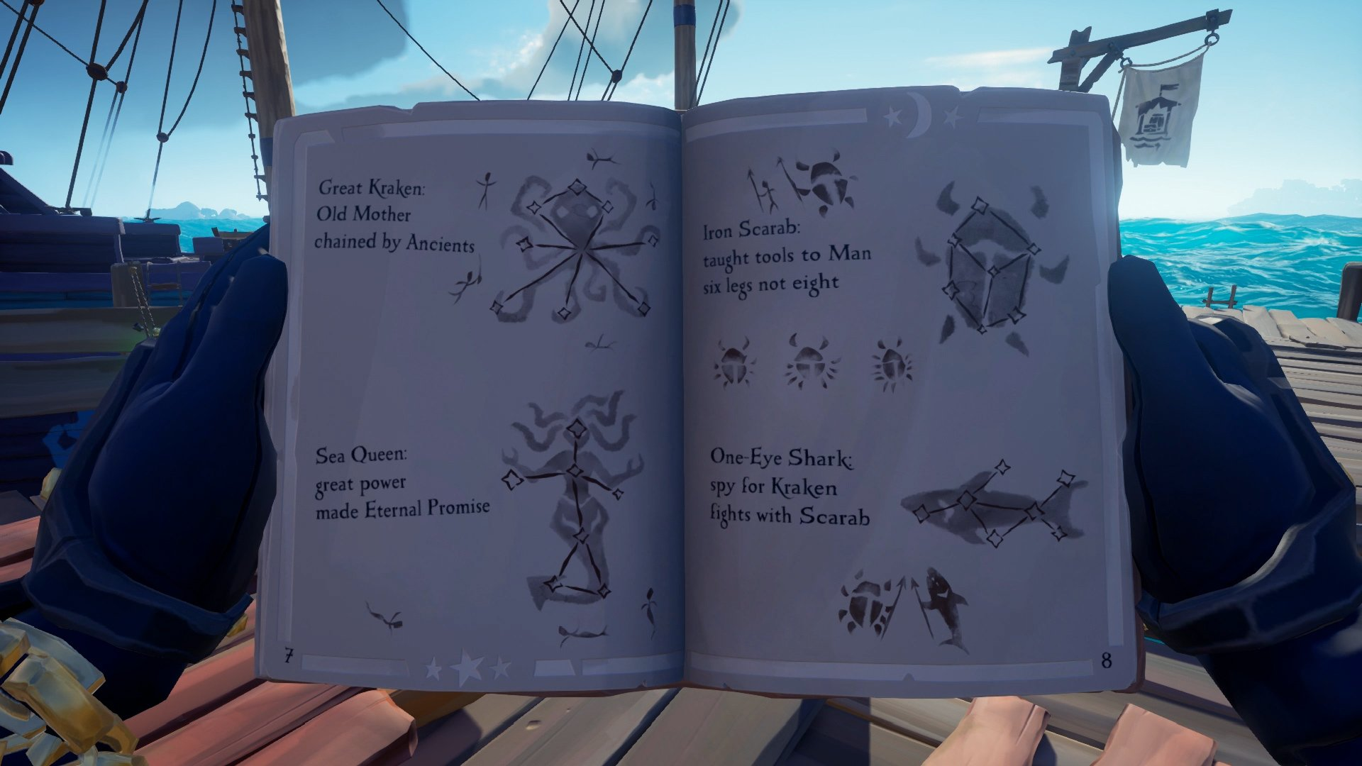 Shores of Gold Tall Tales Sea of Thieves campaign walkthrough
