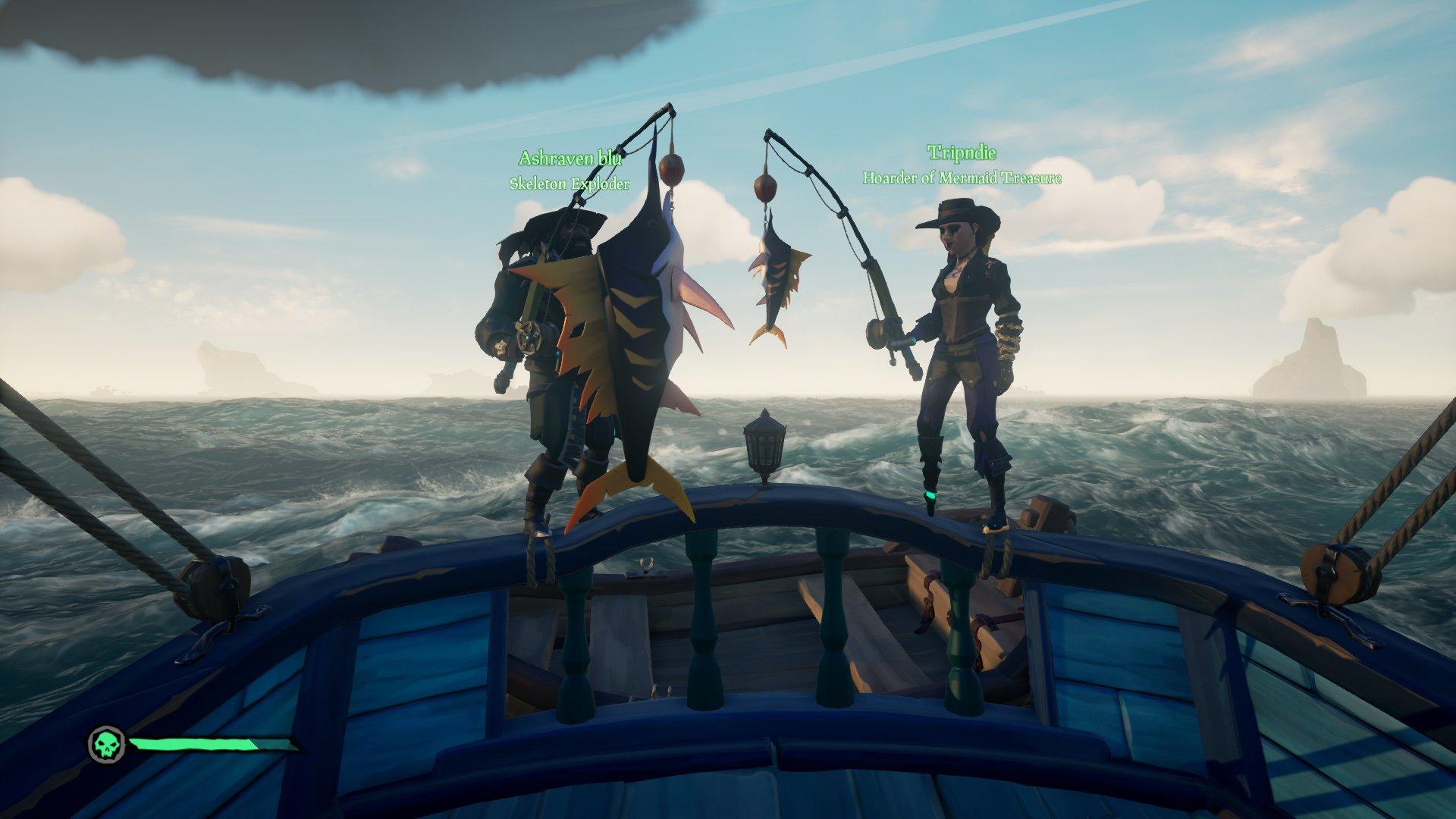 stormfish sea of thieves