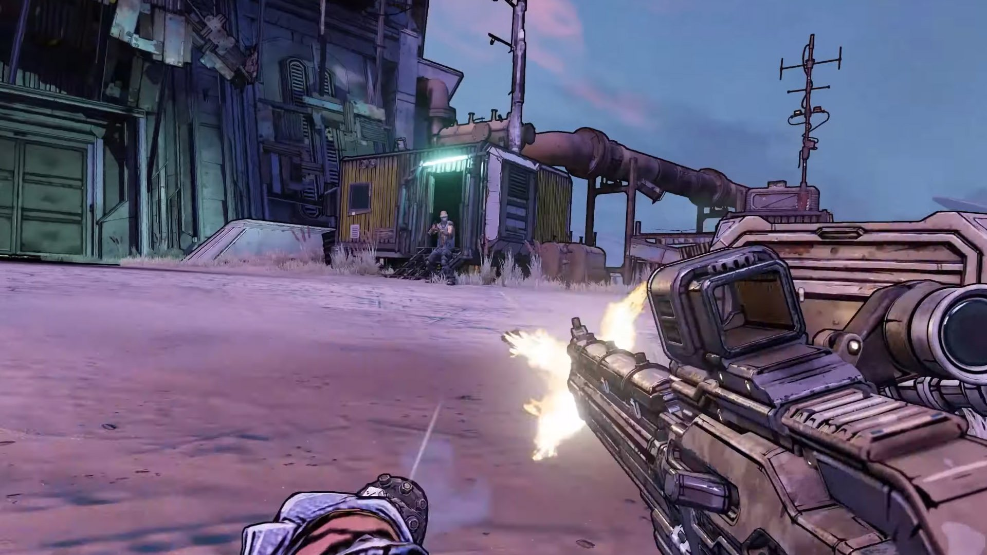 Borderlands 3 Sliding Mantling