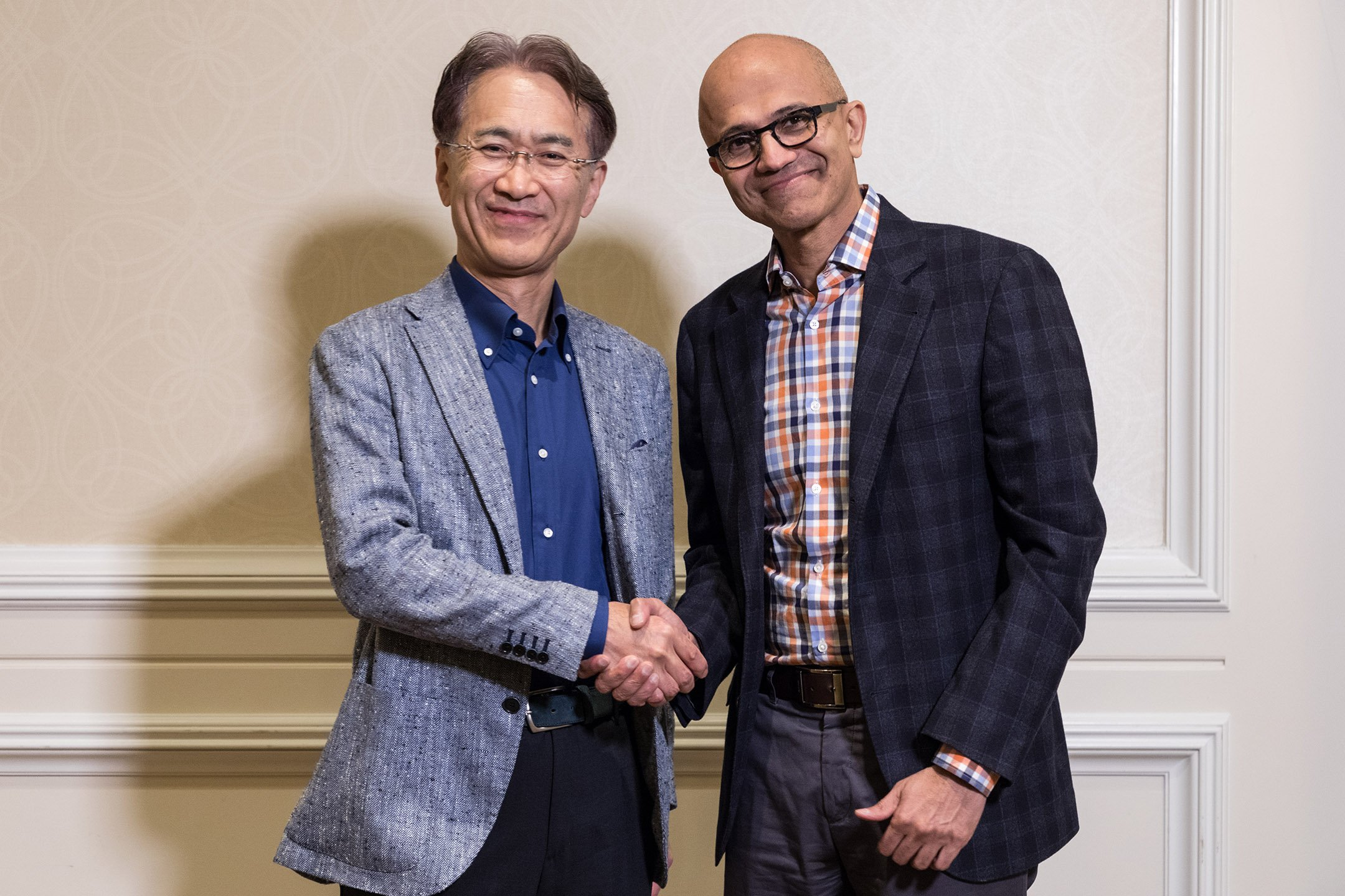 Sony and Microsoft to partner on joint cloud-based solutions