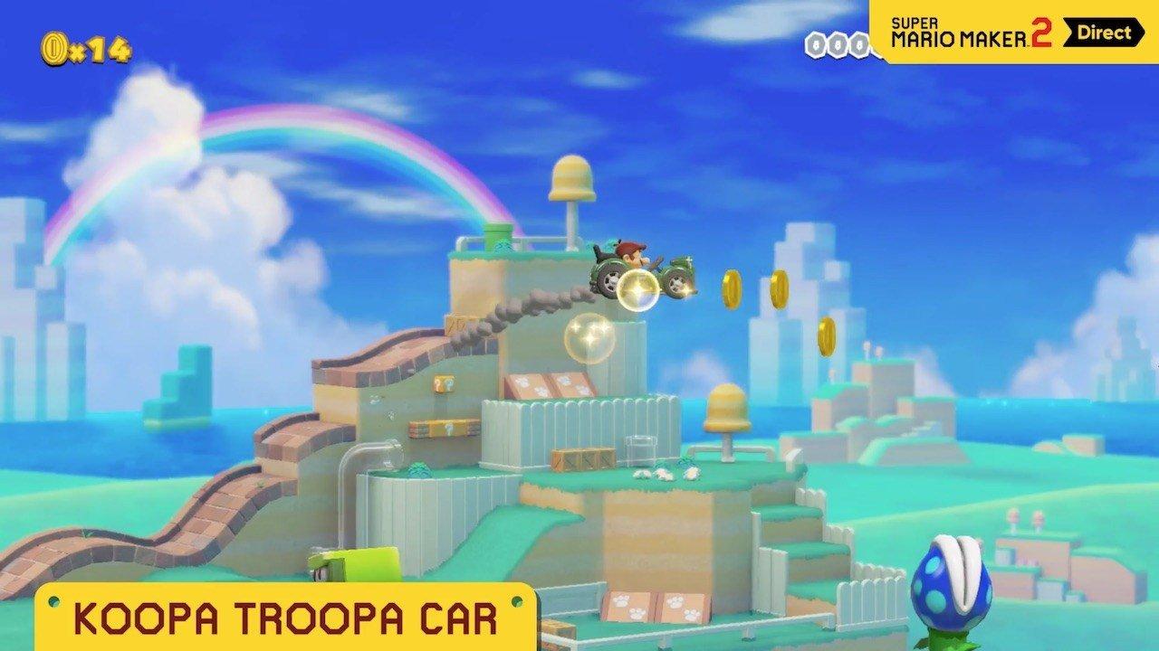 Super Mario Maker 2 Koopa Troopa Car