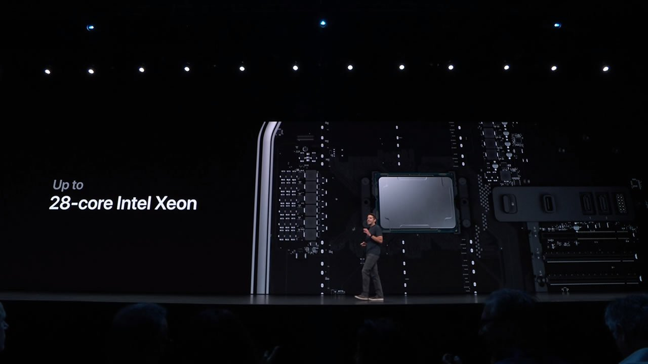 Mac Pro announced Apple WWDC 2019 Intel Xeon 28 core