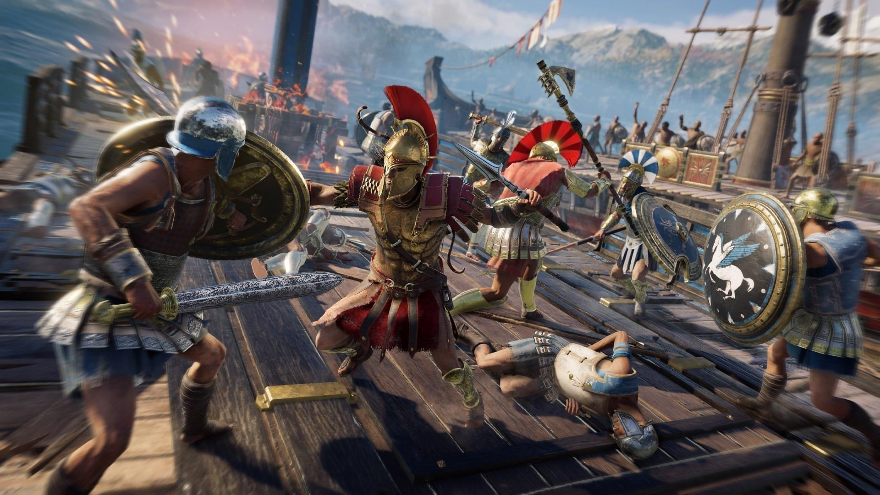 Assassin's Creed Odyssey is just one of several titles available for a discount on PlayStation's Days of Play sale.