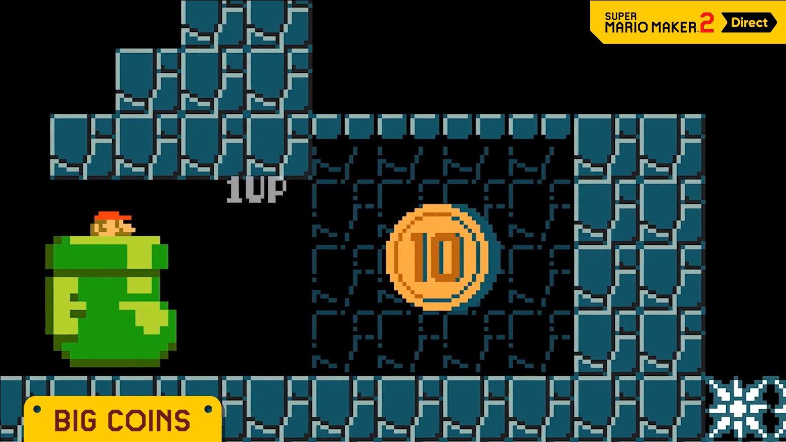 big coins Super Mario Maker 2
