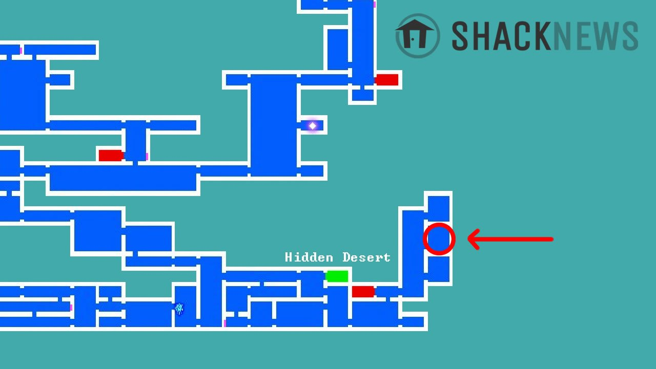 How to open underwater chests in Bloodstained: Ritual of the Night - Deep Sinker shard location map