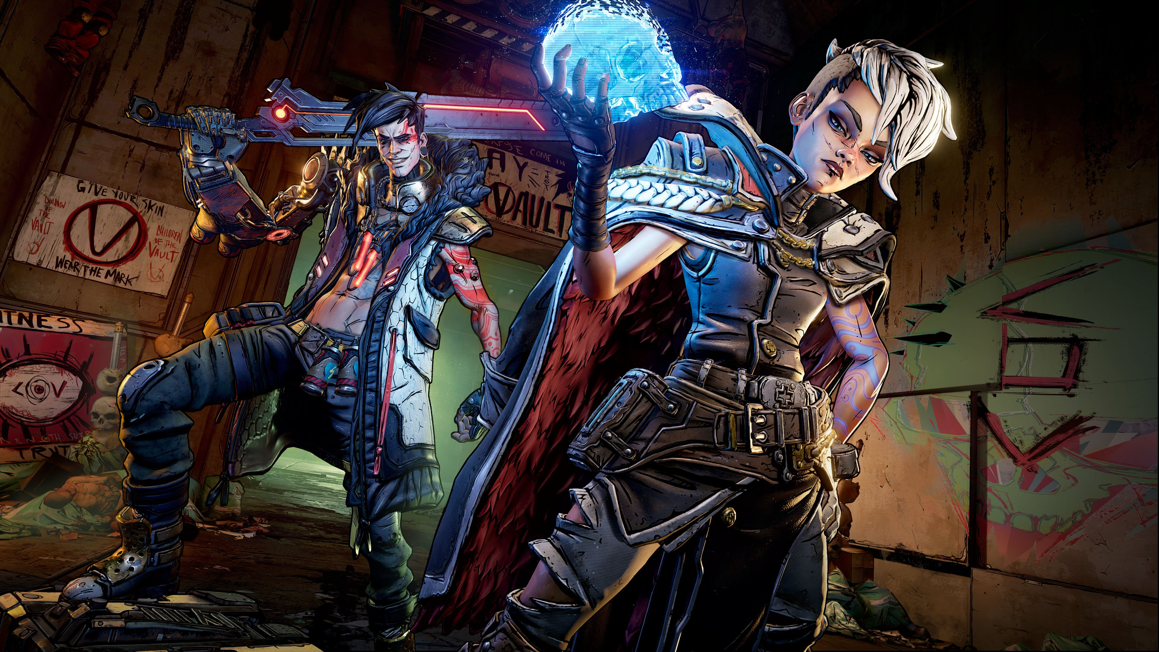 The Twins in Borderlands 3