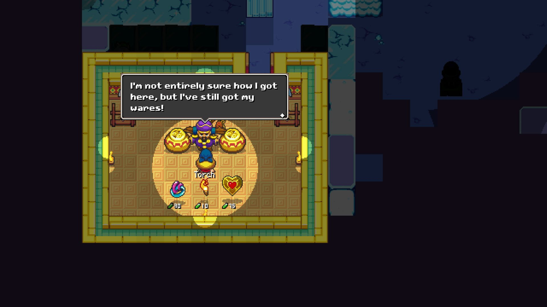 Cadence of Hyrule review - Merchant from Crypt of the NecroDancer