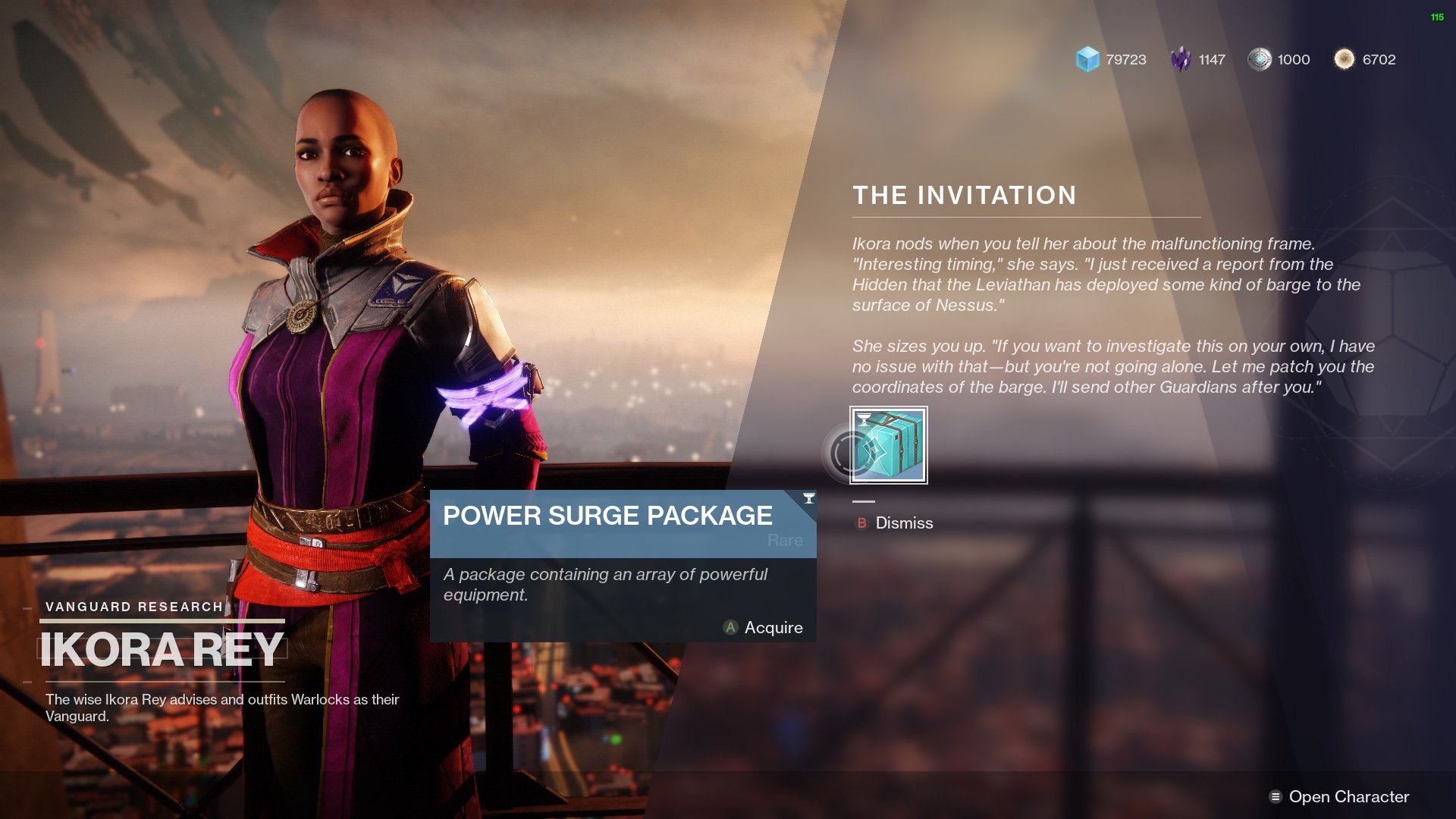 Destiny 2 The Invitation