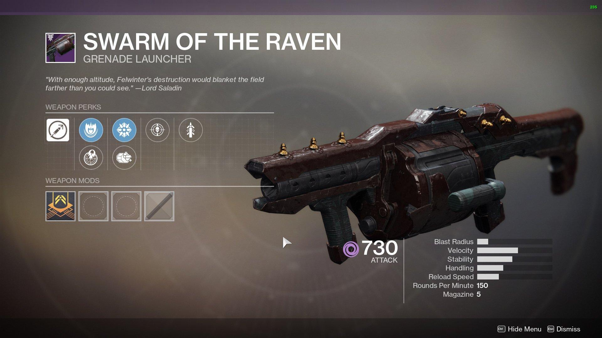 Swarm of the Raven