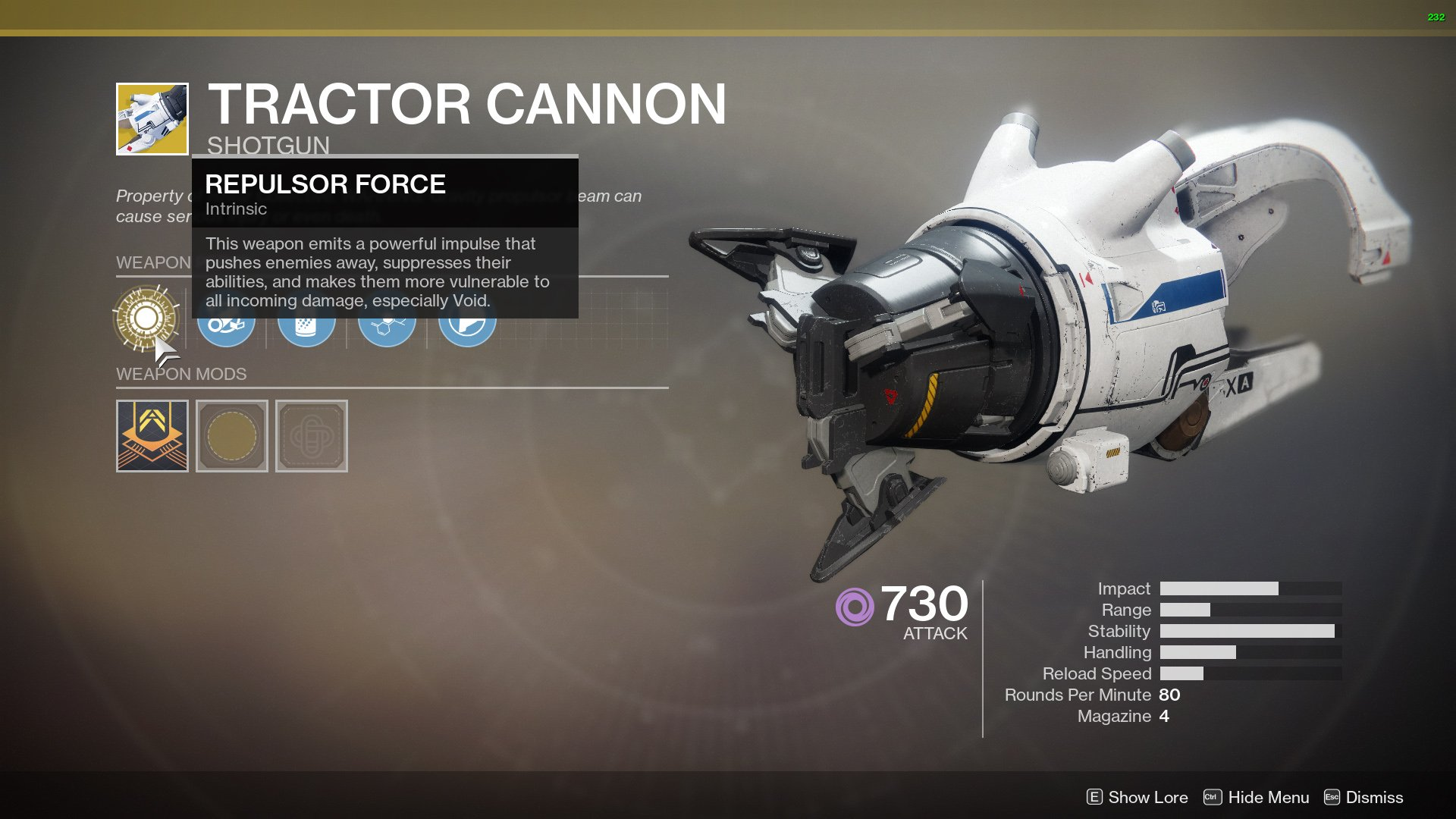 Tractor Cannon