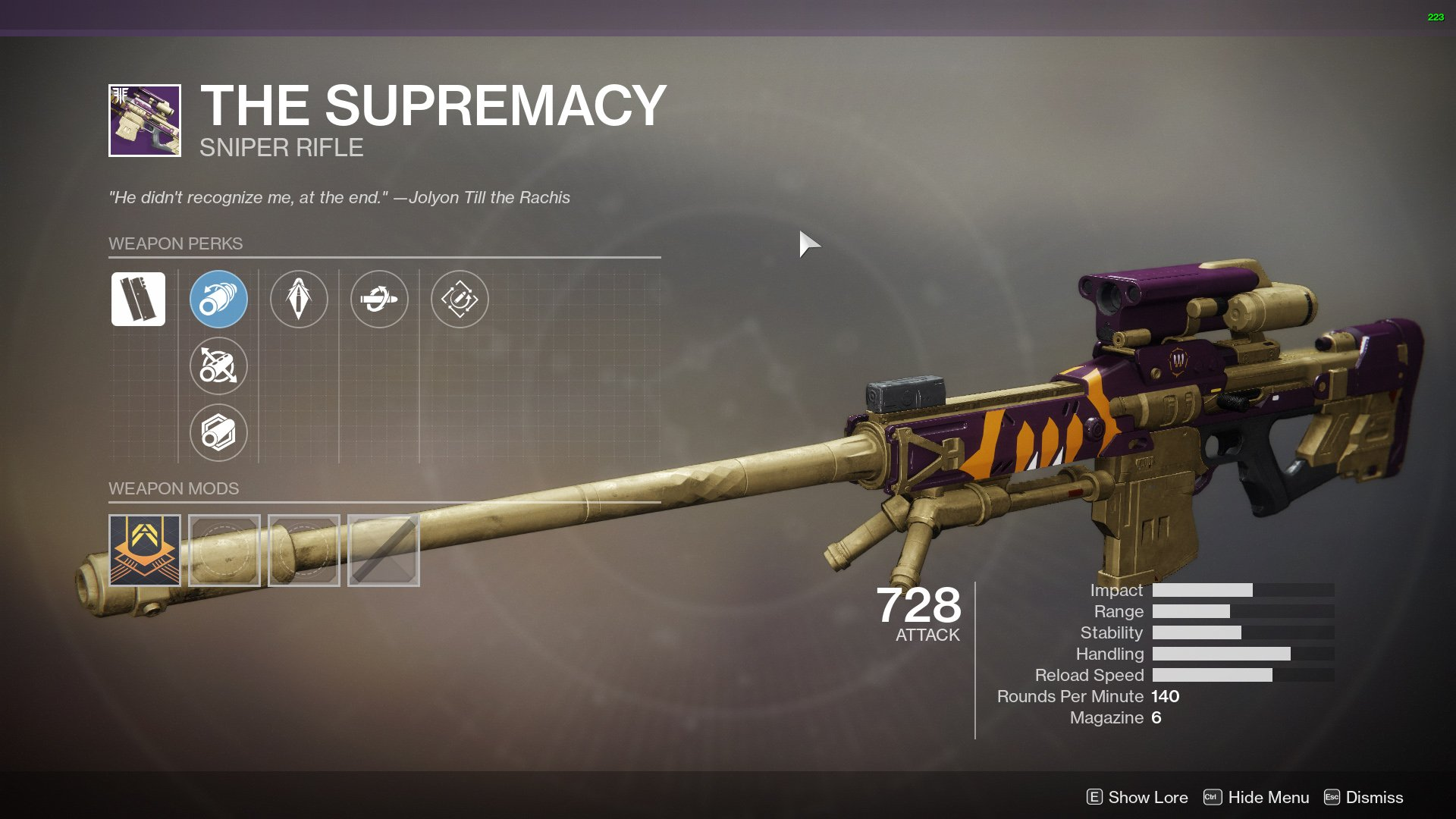 Destiny 2 sniper rifles