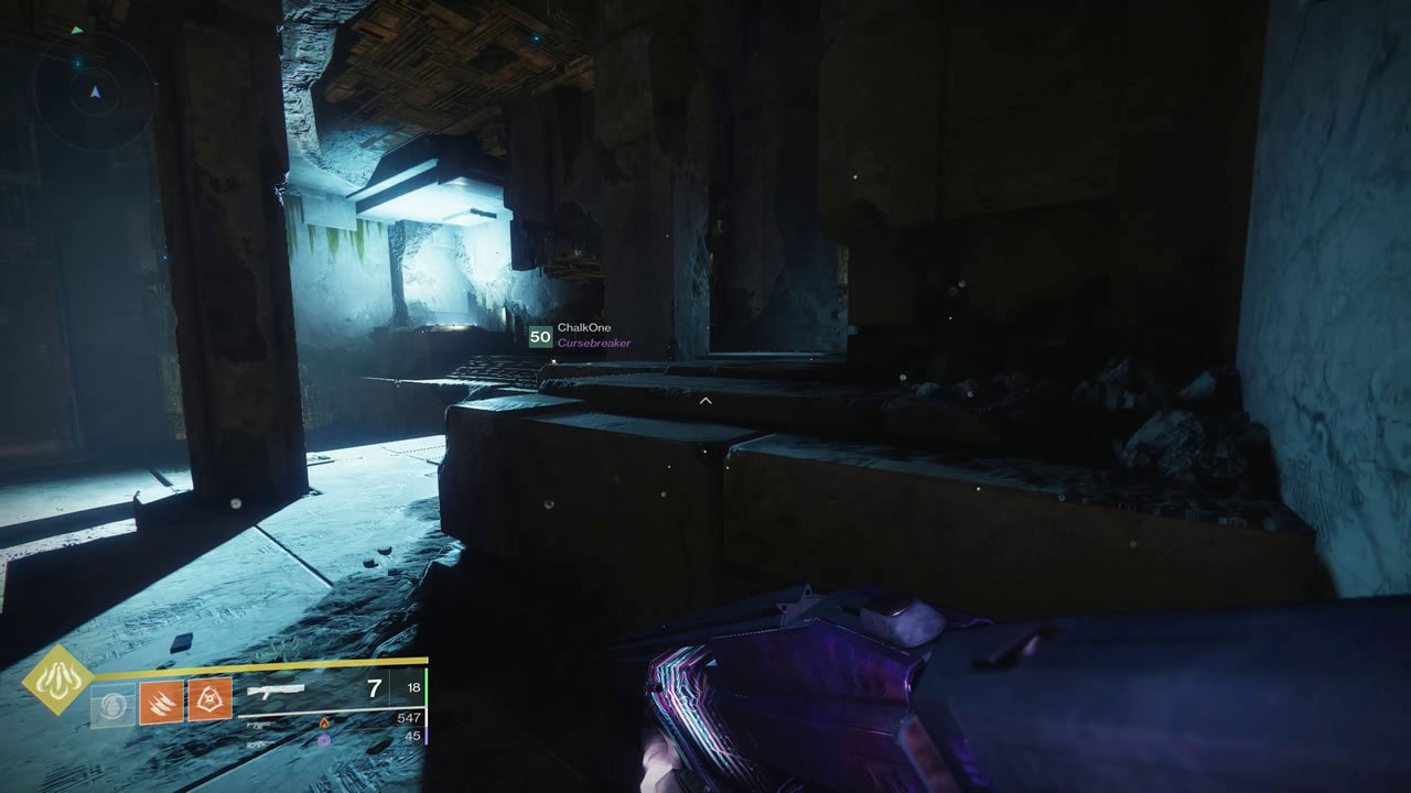 Destiny 2 Chamber of Sky Imperial Treasure chest location