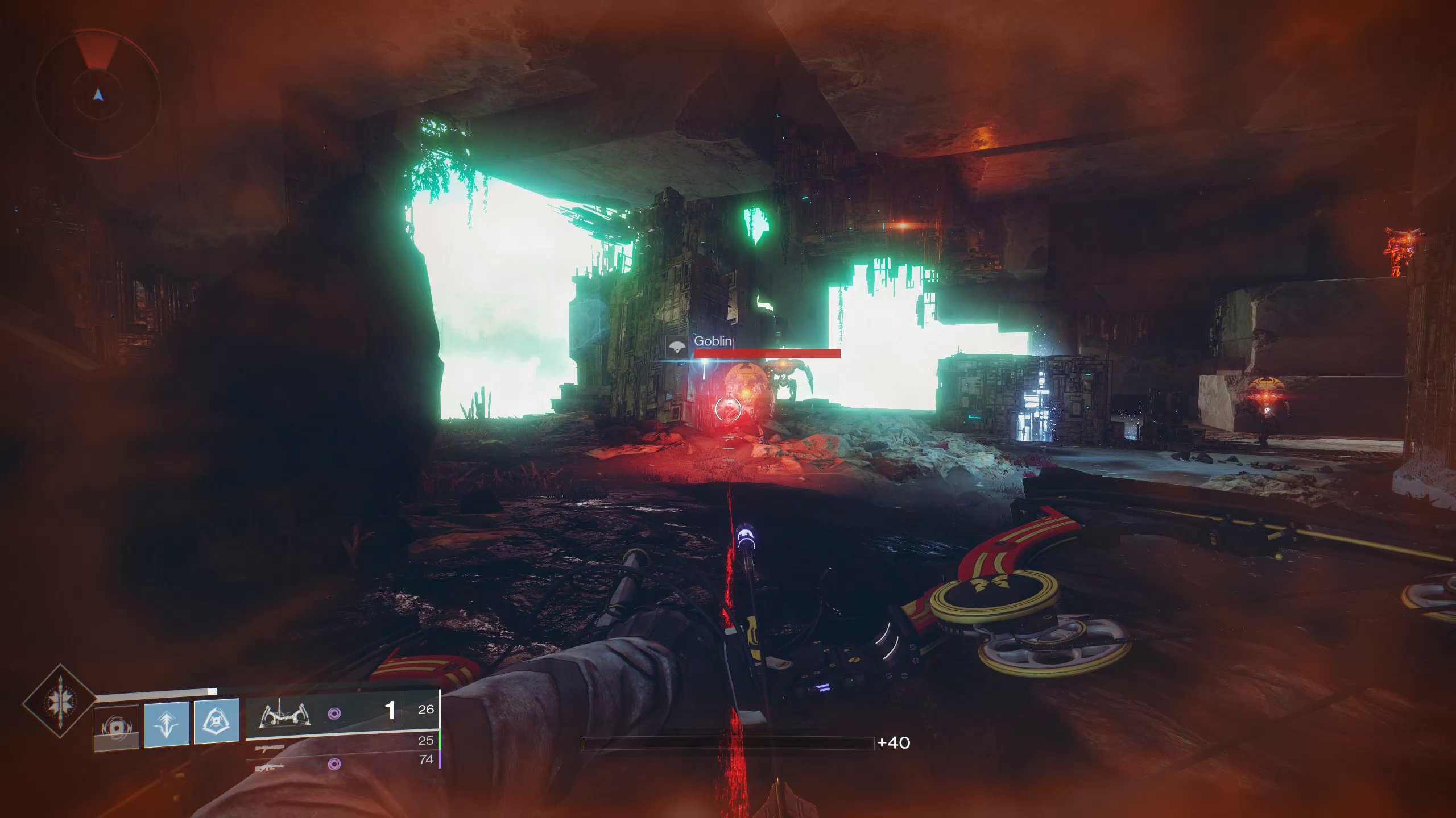 Destiny 2 Chamber of Water Imperial Treasure location
