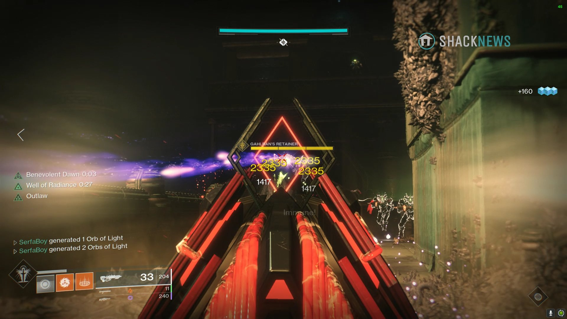 Destiny 2 Gahlran's Retainer
