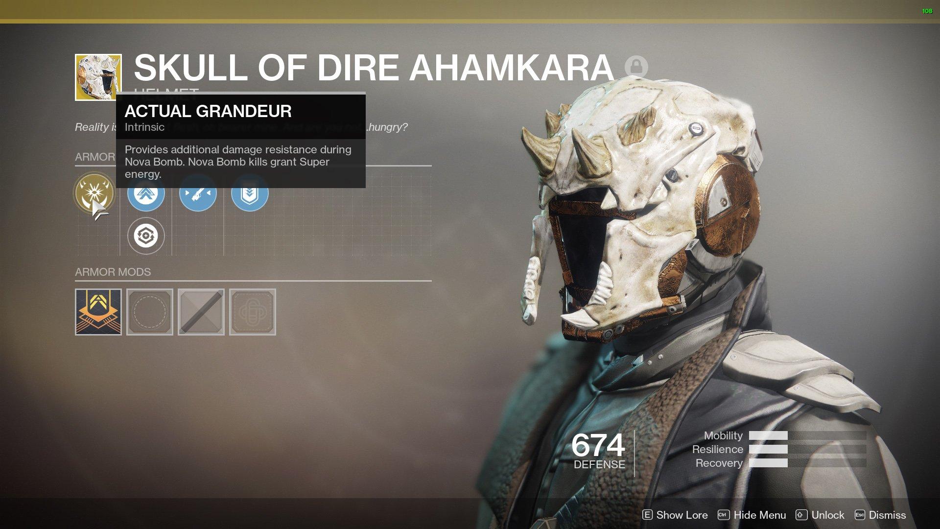 Destiny 2 Skull of Dire Ahamkara nerfs