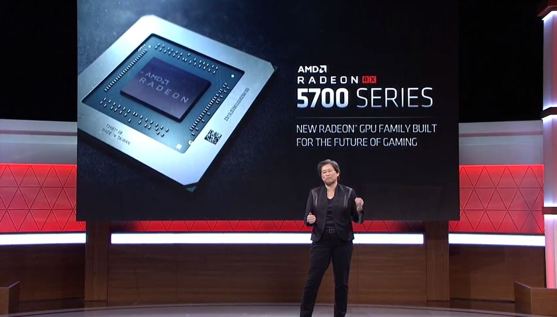 The Radeon RX 5700 were made official on the stage at E3 2019.