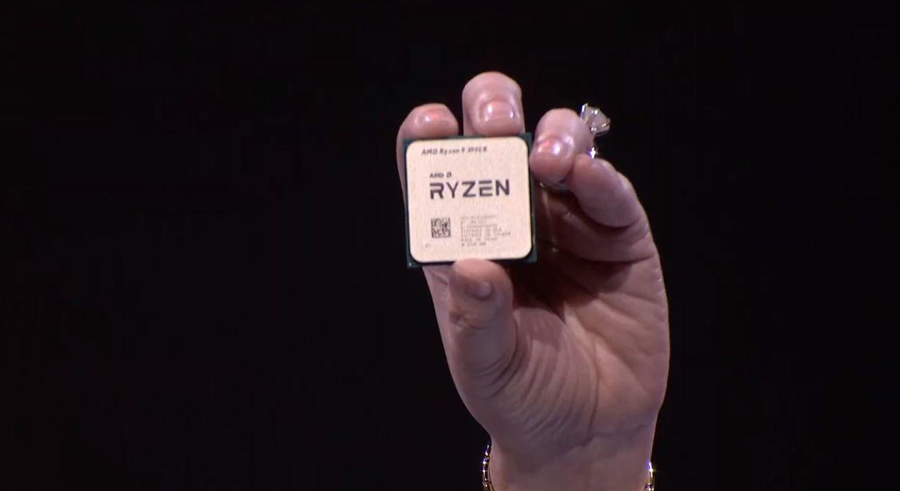 The Ryzen 9 3950X has 8 more cores than Intel's Core i9-9900K.