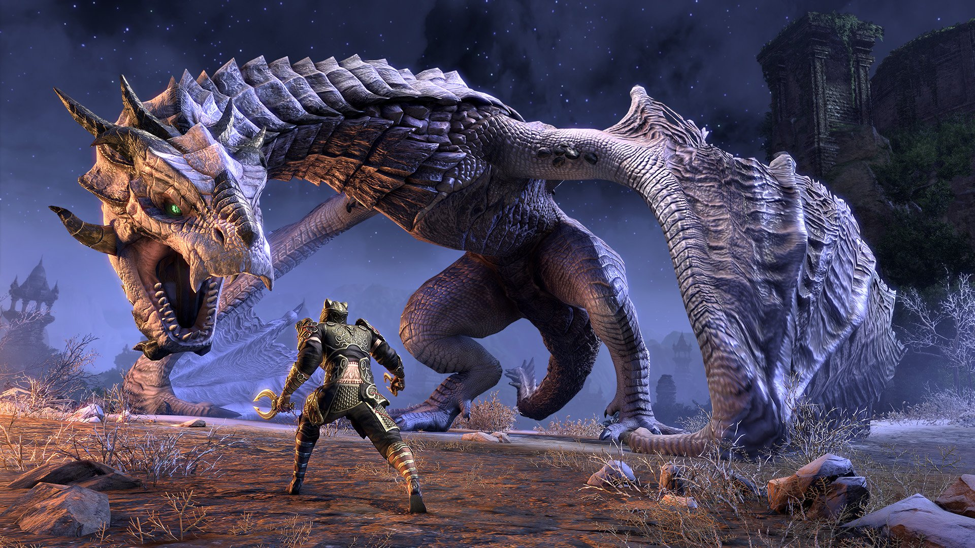 ESO Dragonhold and Scalebreaker DLC announced