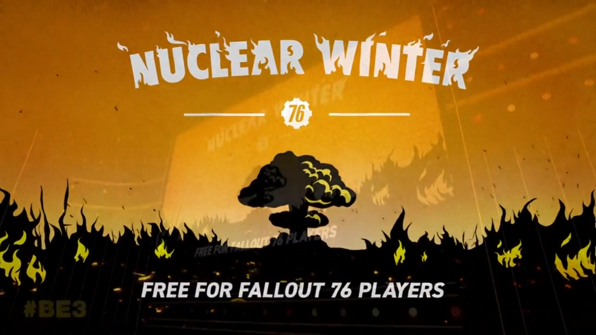 Fallout 76 is getting a battle royale mode.
