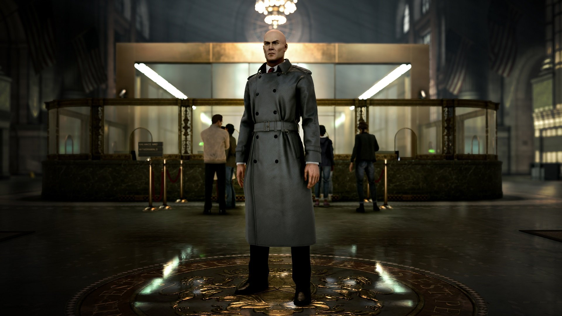 Agent 47 in The New Yorker trench coat available in Hitman 2's Expansion Pass.