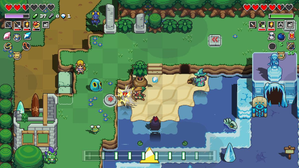 How to get the Flippers in Cadence of Hyrule