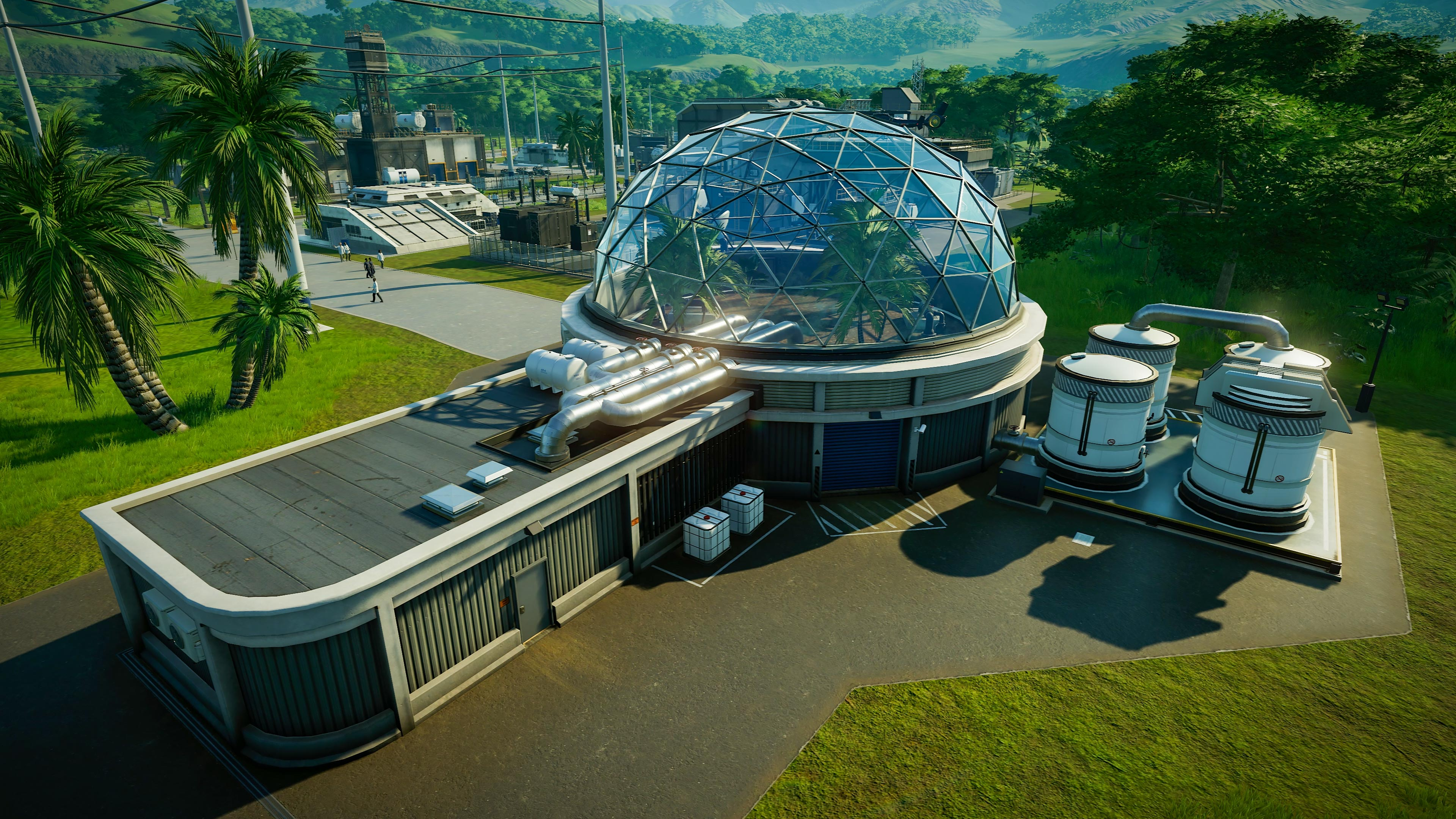 Jurassic World Evolution: Claire's Sanctuary hits this month