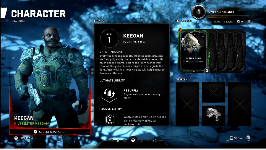 Gears 5 - Keegan
