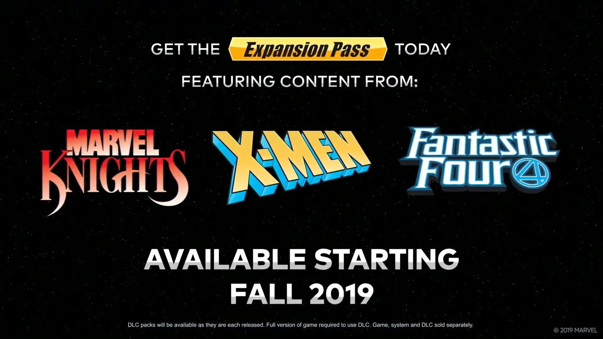 Marvel Ultimate Alliance 3: The Black Order expansion pass revealed