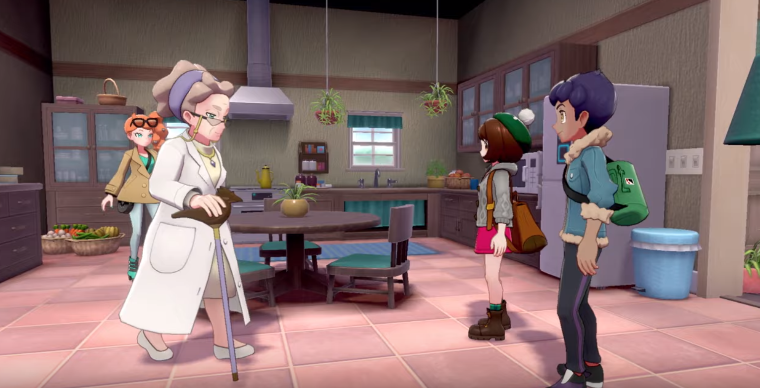 New personalities abound in the world of Pokemon Sword and Shield.