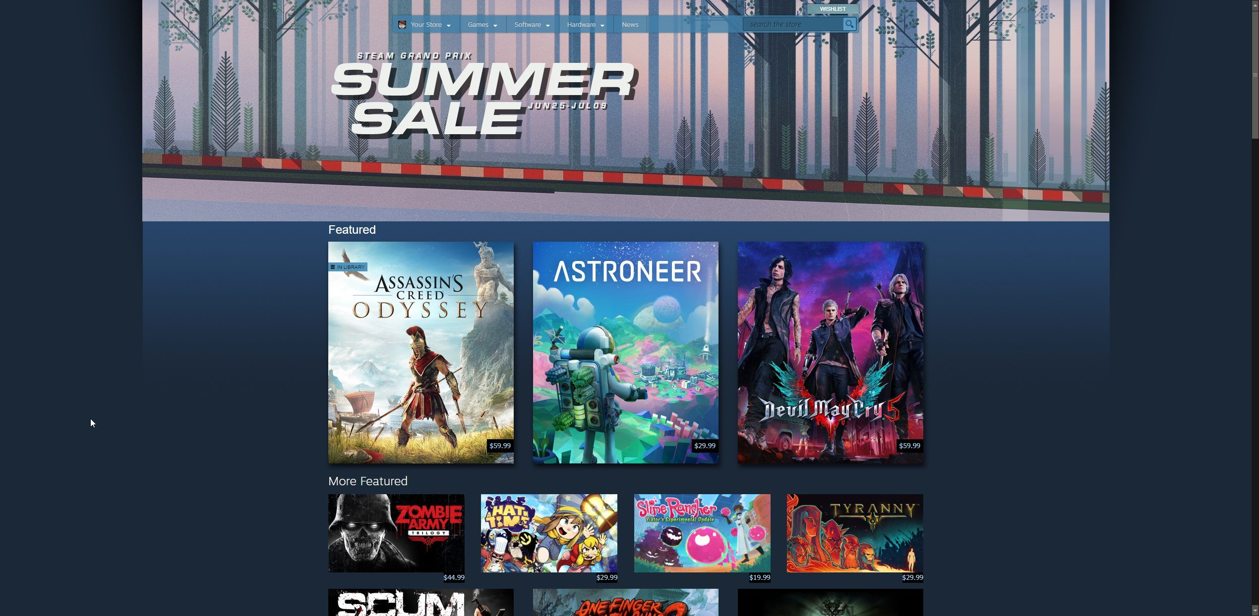 Steam Summer Sale 2019 start and end times